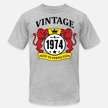 Made In 1974 Vintage Aged To Perfection Vintage 1974 Aged to Perfection - Men's  Jersey T-Shirt