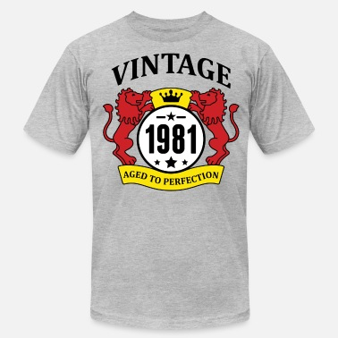 1981 Aged Vintage 1981 Aged to Perfection, - Men's  Jersey T-Shirt