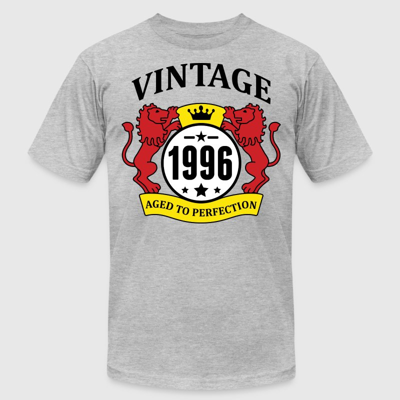 Vintage 1996 Aged to Perfection - Men's Fine Jersey T-Shirt