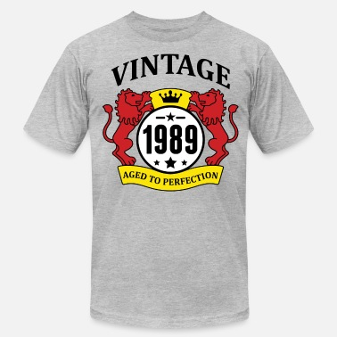 Aged To Perfection 1989 Birthday Vintage 1989 Aged to Perfection - Men's Jersey T-Shirt