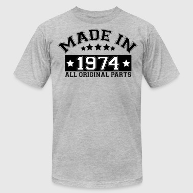 1974 All Original Parts MADE IN 1974 ALL ORIGINAL PARTS - Men's Fine Jersey T-Shirt