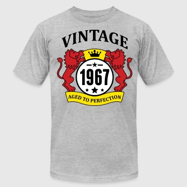 Since 1967...original Aged To Perfection Vintage 1967 Aged to Perfection - Men's Fine Jersey T-Shirt