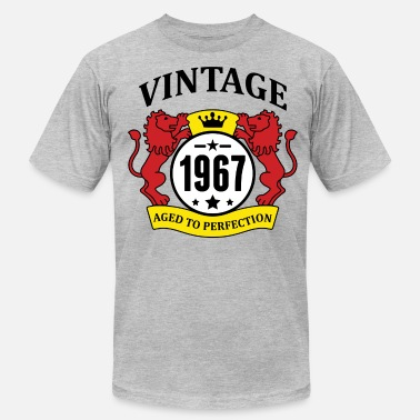 Since 1967...original Aged To Perfection Vintage 1967 Aged to Perfection - Men's  Jersey T-Shirt