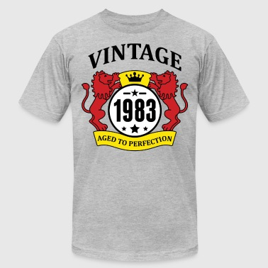 Vintage 1983 Aged to Perfection - Men's Fine Jersey T-Shirt
