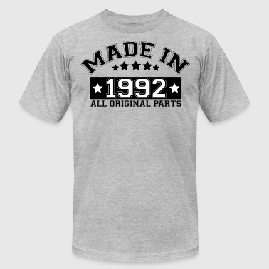 MADE IN 1992 ALL ORIGINAL PARTS - Men's Fine Jersey T-Shirt