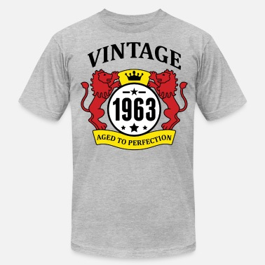 Vintage 1963 Aged To Perfection Vintage 1963 Aged to Perfection - Men's Fine Jersey T-Shirt