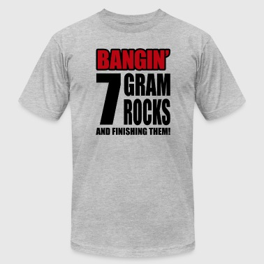 7 Gram Rocks - Men's Fine Jersey T-Shirt