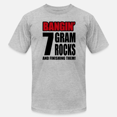 7 Gram Rocks - Men's  Jersey T-Shirt