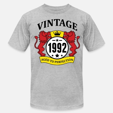 1992 Aged To Perfection Vintage 1992 Aged to Perfection - Men's Jersey T-Shirt