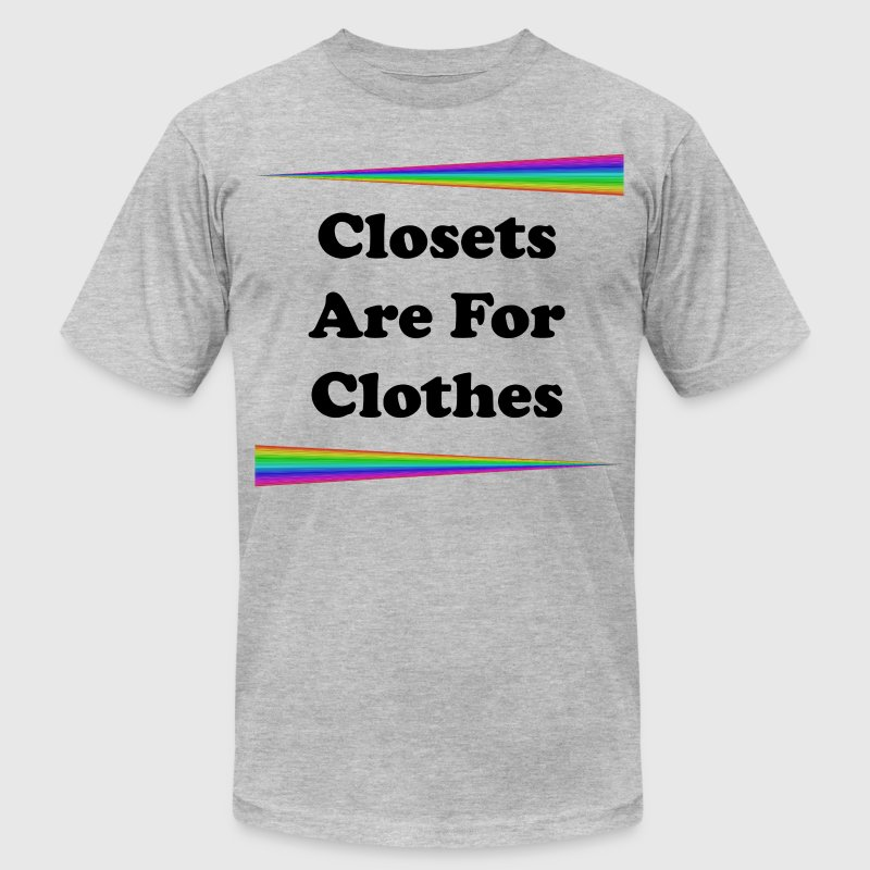 Closets Are For Clothes - Men's Fine Jersey T-Shirt