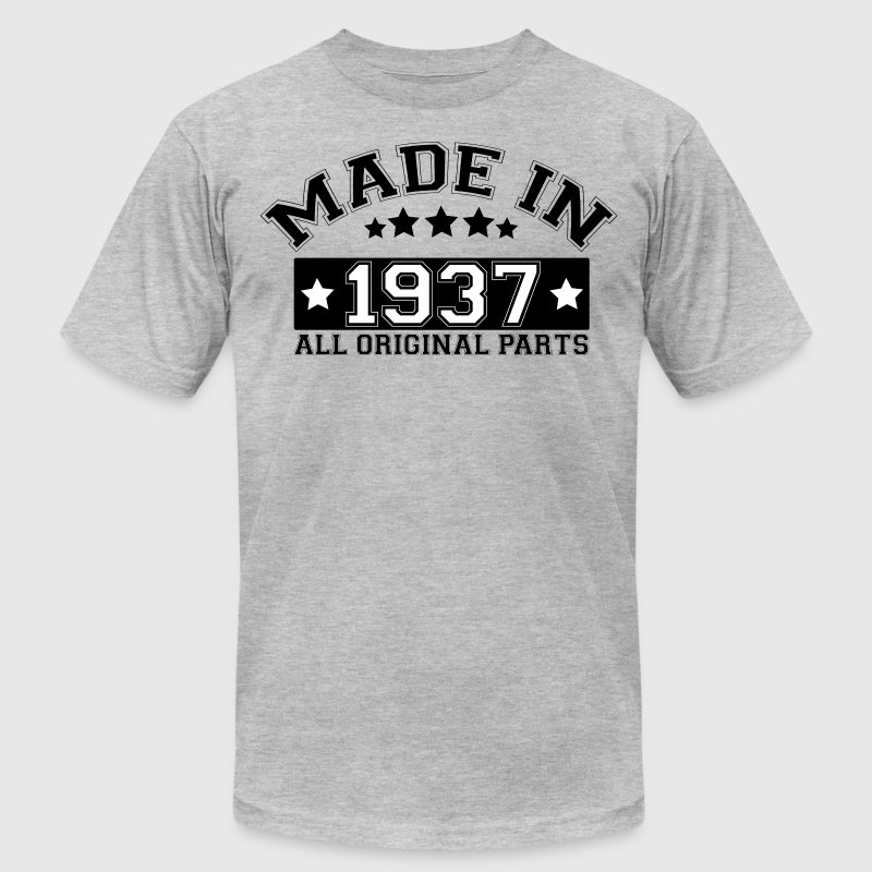MADE IN 1937 ALL ORIGINAL PARTS - Men's Fine Jersey T-Shirt