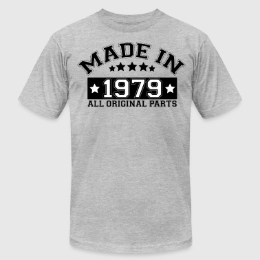 MADE IN 1979 ALL ORIGINAL PARTS - Men's Fine Jersey T-Shirt