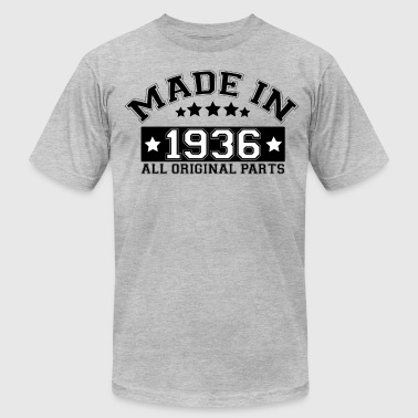 MADE IN 1936 ALL ORIGINAL PARTS - Men's Fine Jersey T-Shirt