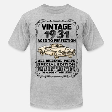 1931 VINTAGE 1931-AGED TO PERFECTION - Men's Jersey T-Shirt