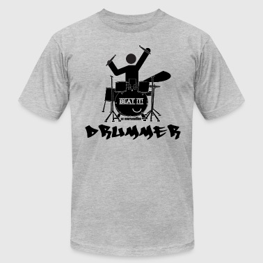 Drummer - Beat it! - Men's Fine Jersey T-Shirt