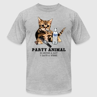 Party Animal - Men's Fine Jersey T-Shirt