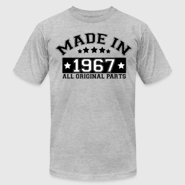 MADE IN 1967 ALL ORIGINAL PARTS - Men's Fine Jersey T-Shirt
