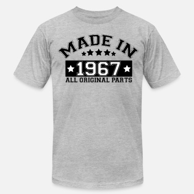 Made In 1967 All Original Parts MADE IN 1967 ALL ORIGINAL PARTS - Men's  Jersey T-Shirt