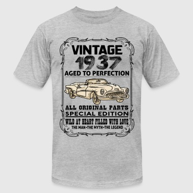 VINTAGE 1937-AGED TO PERFECTION - Men's Fine Jersey T-Shirt