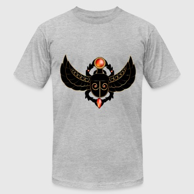 Winged Scarab Wonderful decorative scarab - Men's Fine Jersey T-Shirt