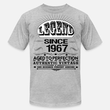 Legend Since 1967 LEGEND SINCE 1967 - Men's  Jersey T-Shirt