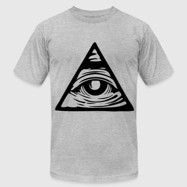 pyramid eye - Men's Fine Jersey T-Shirt