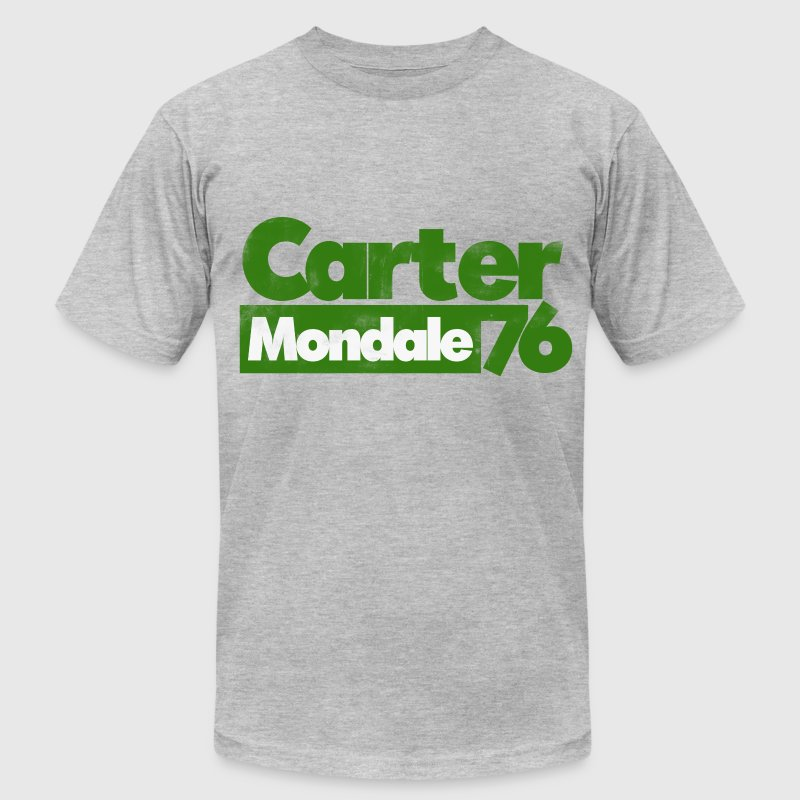 Carter Mondale 1976 retro election - Men's Fine Jersey T-Shirt