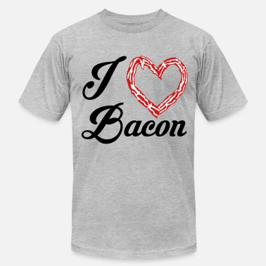 Bacon Pride bacon love - Men's  Jersey T-Shirt
