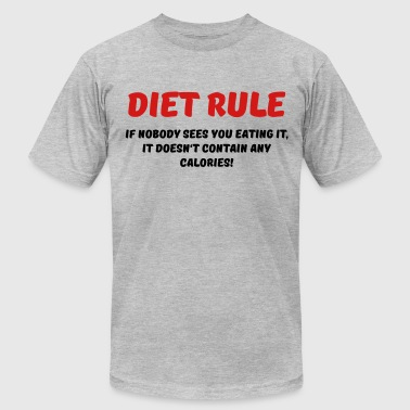 Healthy Eating Diet rule - Men's Fine Jersey T-Shirt