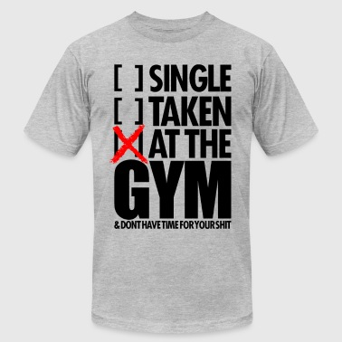 In The Gym AT THE GYM - Men's Fine Jersey T-Shirt