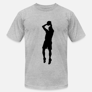 Vector-designs Basketball Vector Design - Men's Fine Jersey T-Shirt