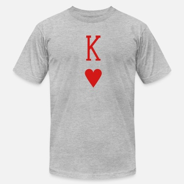 Heart King King of Hearts - Men's Jersey T-Shirt