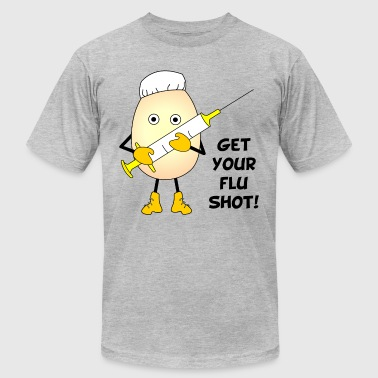 Nurse Flu Shot  - Men's Fine Jersey T-Shirt