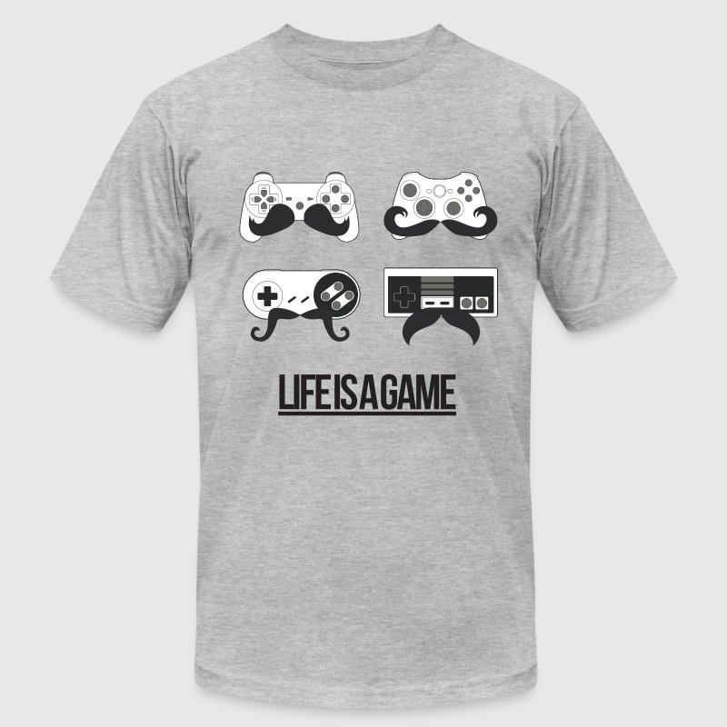 Life is a Game - Men's Fine Jersey T-Shirt