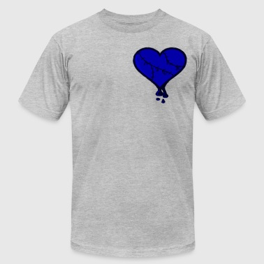 Stitched Heart - Men's Fine Jersey T-Shirt