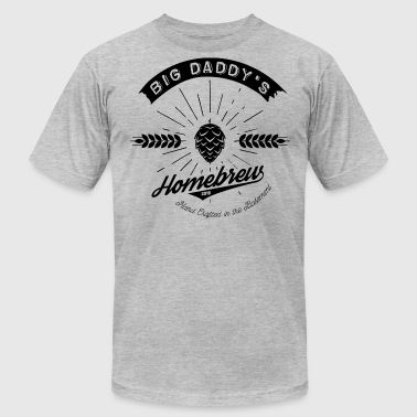 Big Daddy's Homebrew blac - Men's Fine Jersey T-Shirt