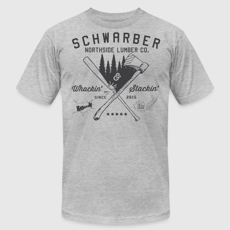 Schwarber Lumber Co - Men's Fine Jersey T-Shirt