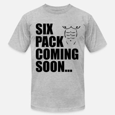 Abs Coming Soon Six Pack Coming Soon - Men's Fine Jersey T-Shirt