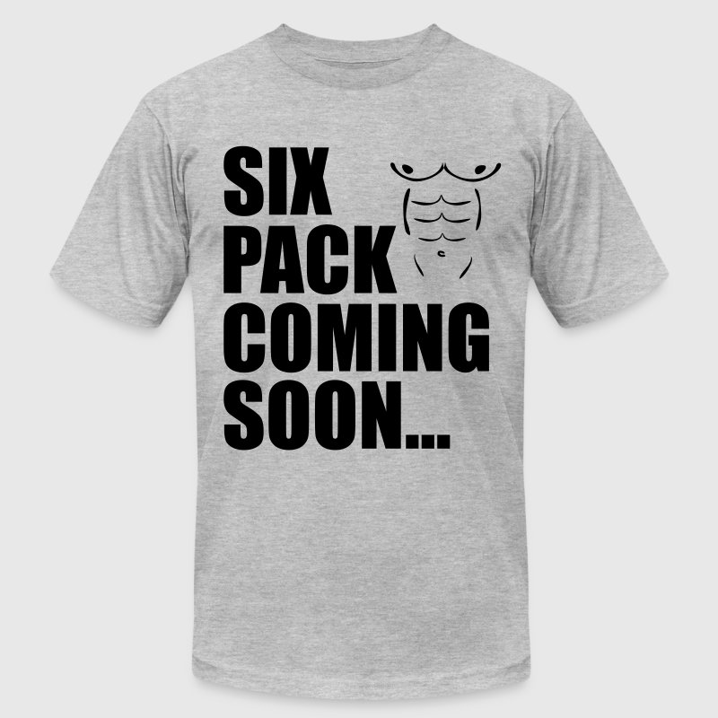 Six Pack Coming Soon - Men's Fine Jersey T-Shirt