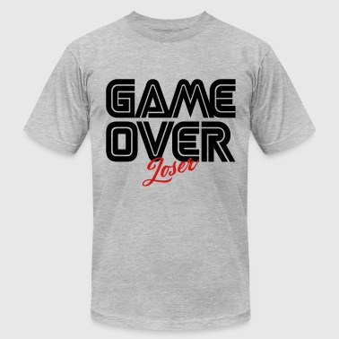 Game Over Loser - Men's Fine Jersey T-Shirt