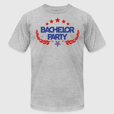 bachelor Party - wedding - marriage-game over-stag - Men's Fine Jersey T-Shirt