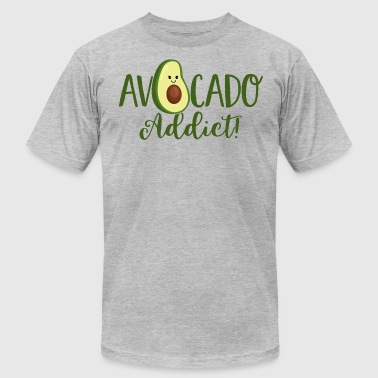 avocado addict -Vegan-Plant based diet-cute green - Men's Fine Jersey T-Shirt