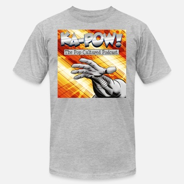 Pop Culture Ka-Pow! The Pop Cultured Podcast - Men's  Jersey T-Shirt