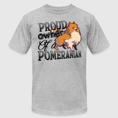 Proud Owner Of A Pomeranian Shirt - Men's Fine Jersey T-Shirt