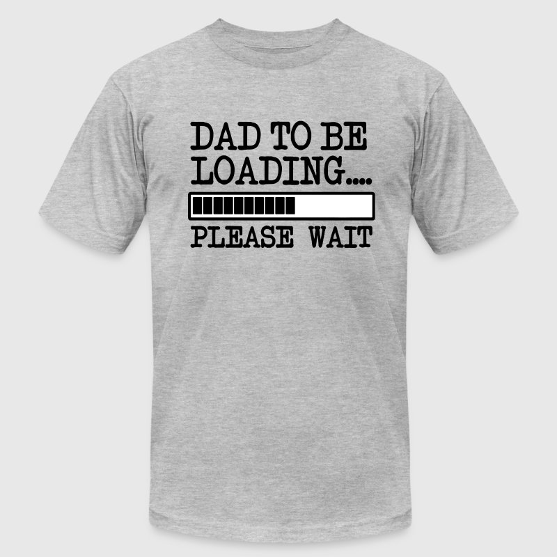 Dad to be Loading funny baby - Men's Fine Jersey T-Shirt