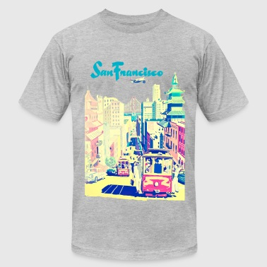 San Francisco vintage mode - Men's Fine Jersey T-Shirt