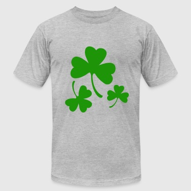 3 Three Leaf Clovers - Men's Fine Jersey T-Shirt