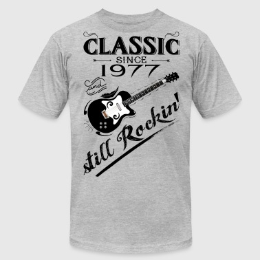 Classic Since 1977-Still Rockin' - Men's Fine Jersey T-Shirt