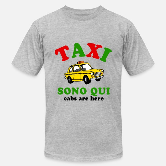 Shore T-Shirts - Taxi Italy - Men's Jersey T-Shirt heather gray