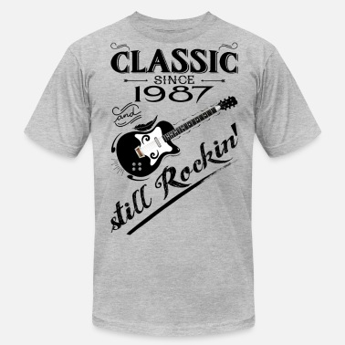 Made In 1987 All Original Parts Classic Since 1987-Still Rockin' - Men's  Jersey T-Shirt